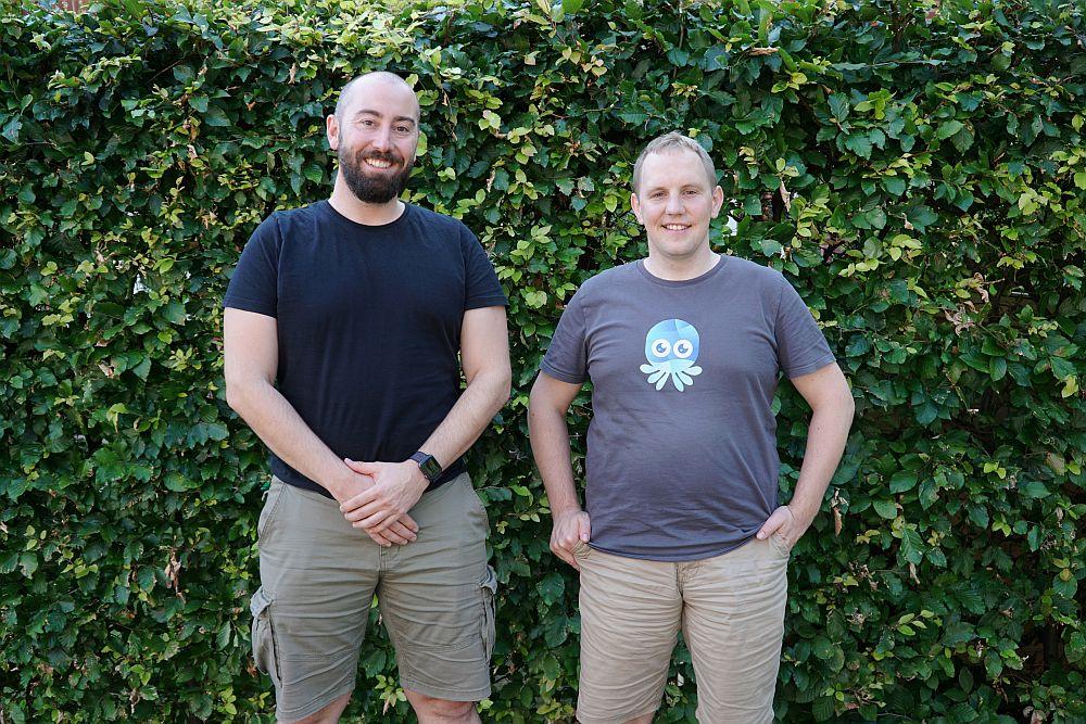 Julian Hansert (COO) und Sebastian Scheele (CEO), die Gründer von Kubermatic