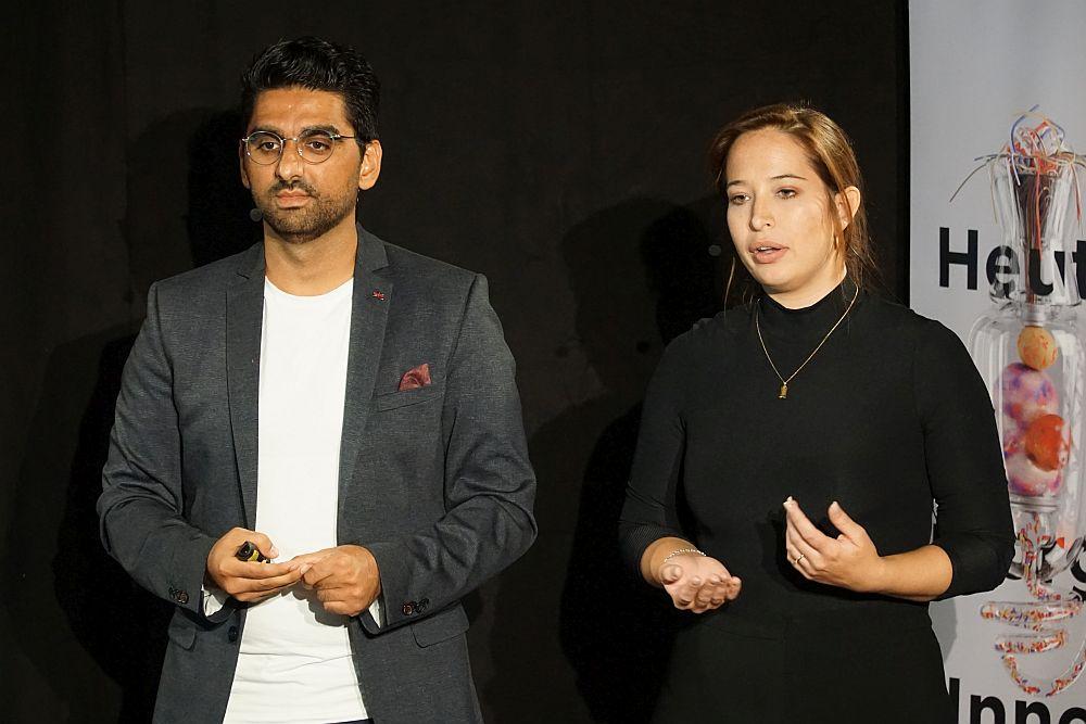 Mohamad Hamed Jalalzada und Marie-Christine König von hoλos