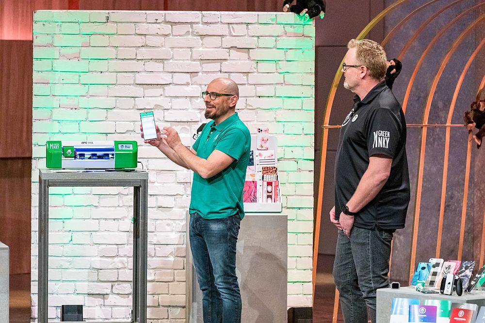 Ziya Orhan und Oliver Klingenbrunn von GreenMNKY (Foto: TVNOW / Bernd-Michael Maurer)