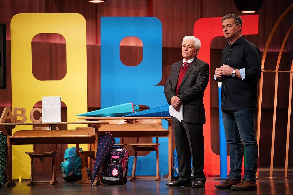 Hasan Hüseyin Saygili und Kai Döringer haben Schreibpilot entwickelt. (Foto: TVNOW / Stefan Gregorowius)