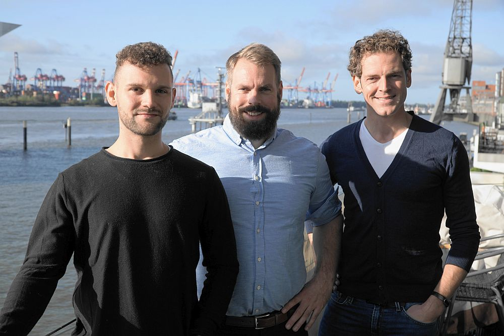 Drei von den TALENTLOTSEN: Dennis Szimmetat (Teamlead Sales), Jan Wulf (Geschäftsführer) und Michael Moser (HR Business Consultant)