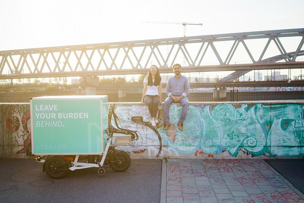 Das Gründerduo Natalia Tomiyama und Fahad Khan (Foto: NÜWIEL)