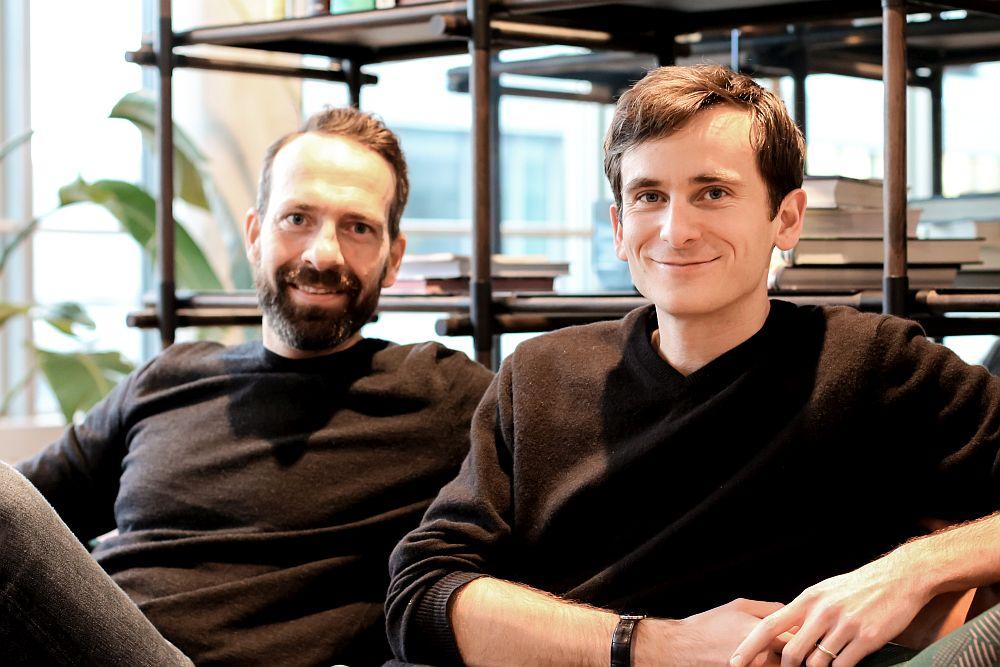 Die Gründer Kai Hesselmann und Graig Gröbli (Foto: DealCircle)