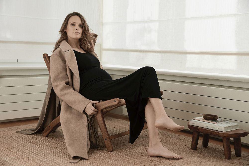 Ein Beispiel aus der Kollektion von The Mama Set. Der Mantel gehört nicht dazu.