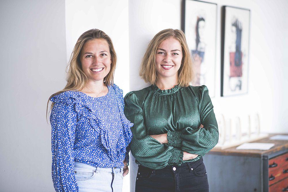 Die Gründerinnen Victoria Dietrich und Evgeniya Polo (Foto: Emmora)