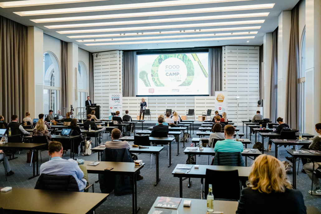 Beim Food Innovation Camp Select 2020 in der Handelskammer Hamburg. (Foto: Stefan Groenveld)