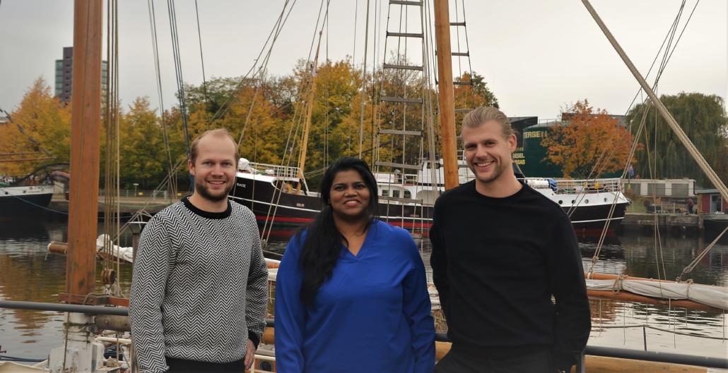Das Team von KONVOI: Heinz Luckhardt, Divya Settimali und Alexander Jagielo  (Foto: KONVOI)
