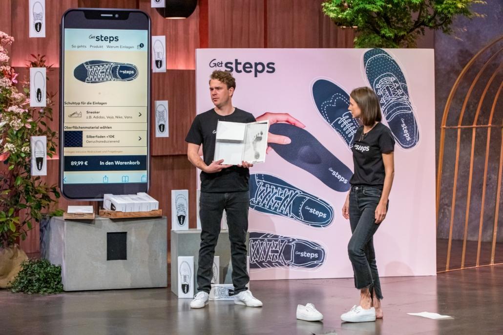 Annik Wolf und Vincent Hoursch glauben, mit ihrem Startup GetSteps auf dem Weg nach ganz oben zu sein.