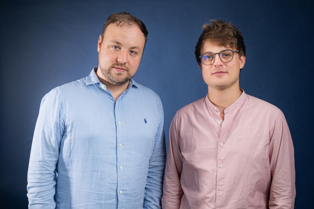 Neu beim nma: Matthias Bonnert und Marvin Schade (Foto: Medieninsider)