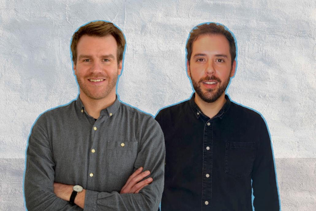 Neu beim nma: Simon Kapell und Maximilian Conrad (Foto: HYPE 1000)