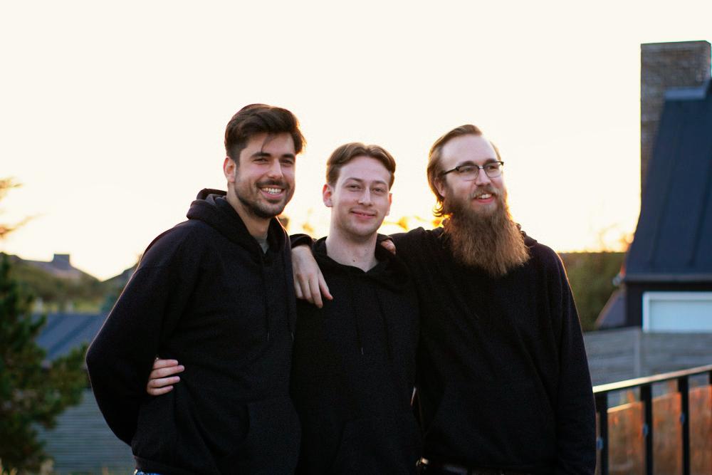 Ivan Peric, Caine Förster und Benjamin Bortels sind die Gründer von Aforia.