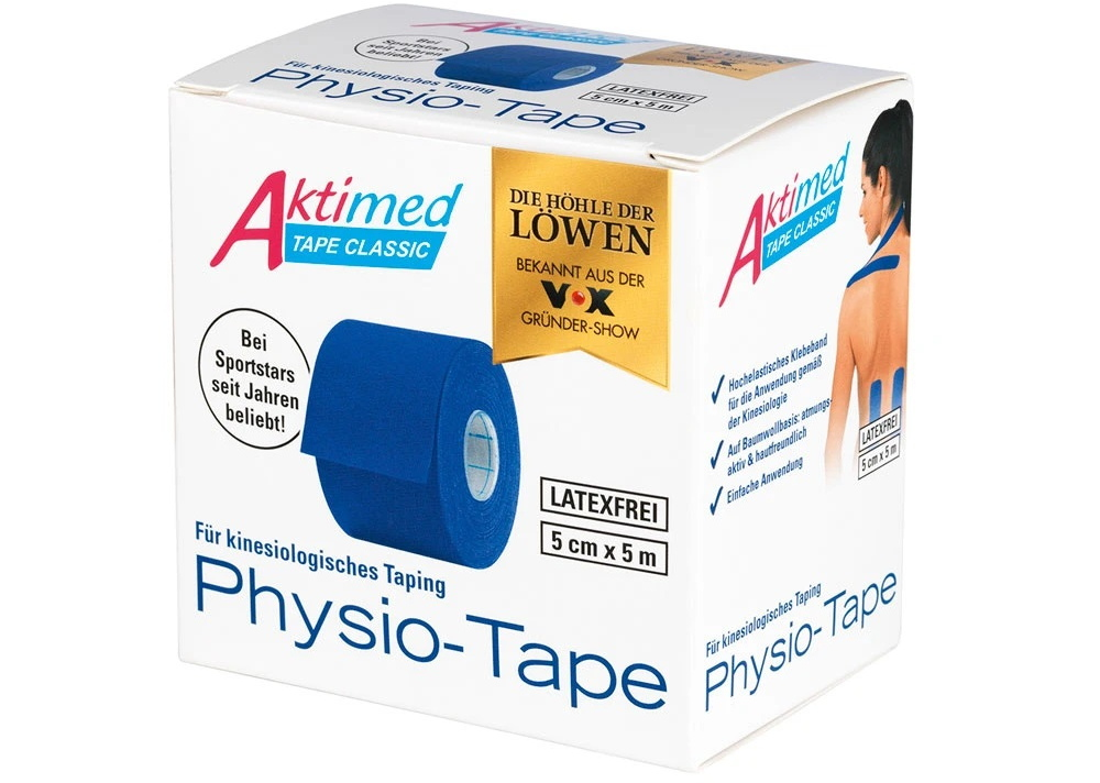 Der Klassiker: das Physio-Tape (Foto: Aktimed)