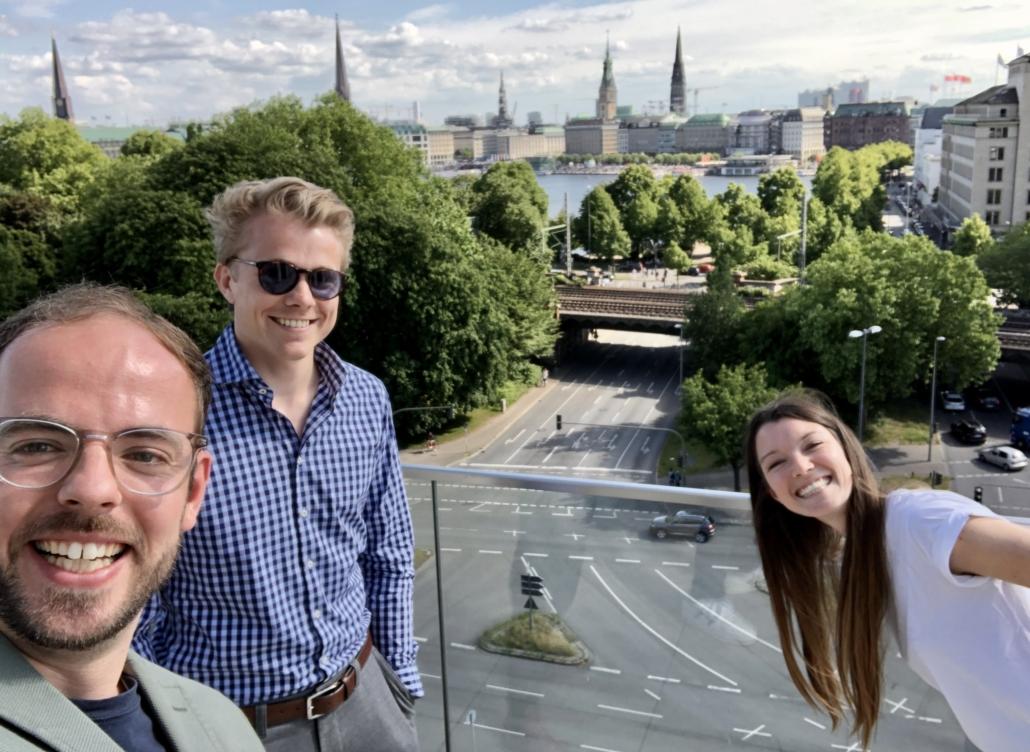 Sie sind Teil des Teams von Scale Nord: Christoph Haß, Jannis Grube und Lisa-Maria Glass (Foto: C. Haß)