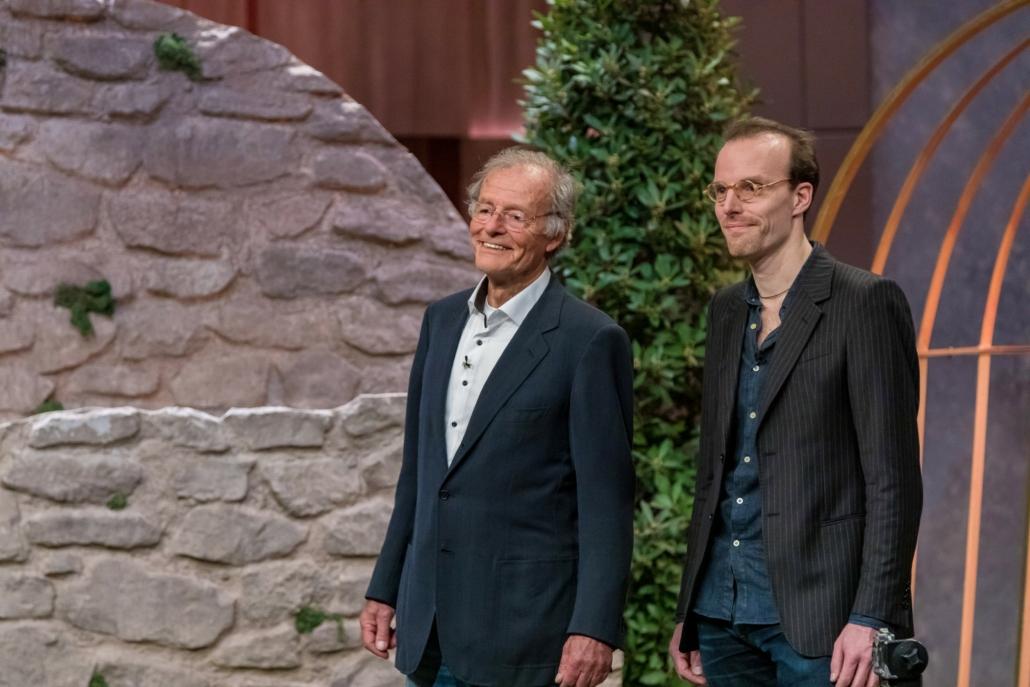 Gert und Tobias Wagner von Steadify in der Höhle der Löwen.