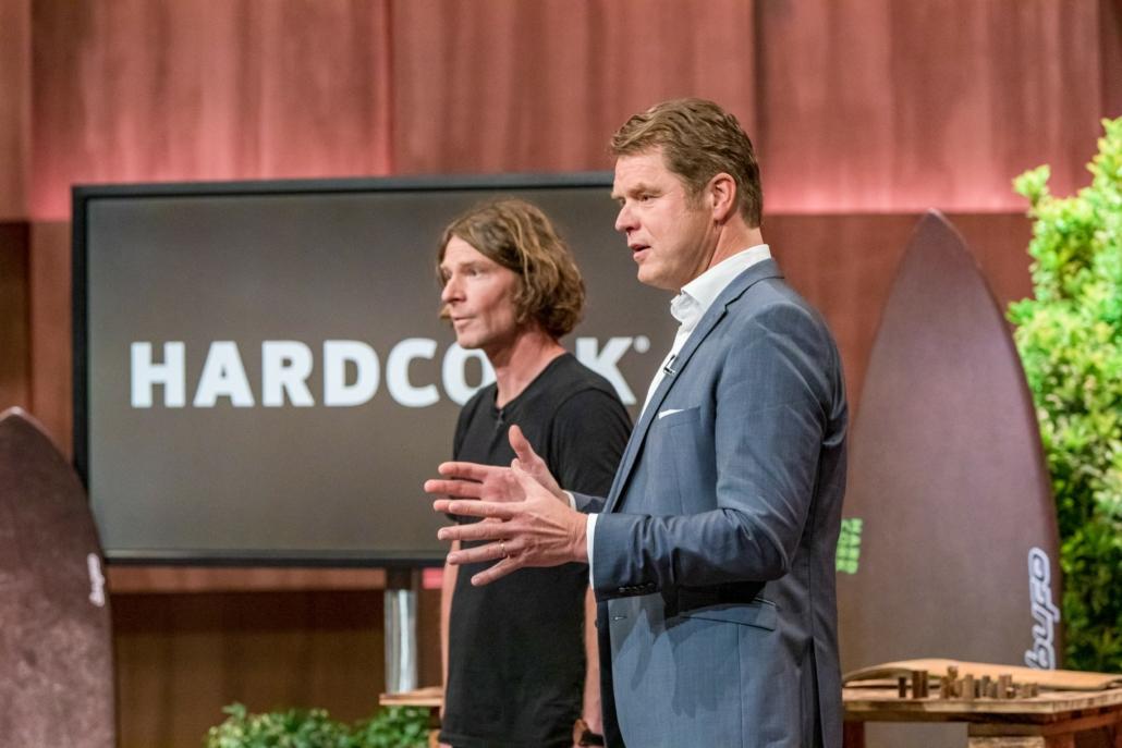 Rouven Brauers und Alexander sehen in HARDCORK das Material der Zukunft. (Foto: TVNOW / Bernd-Michael Maurer)