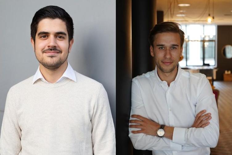 NCA Batch 8, Team INTOYOU: Anil Simsik und Jan Henri Kalinowski.
