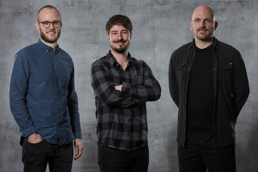 Neu beim NCA - Team Revent:  David Foullois, Stephan Scheele und Tim Hübner (Foto: Marco Grundt)