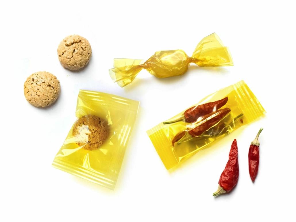 Das Material von traceless eignet sich gut für die Verpackung von Food-Produkten.