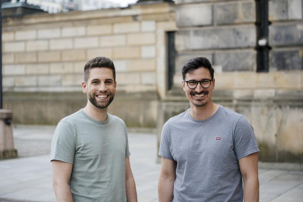 Benny Bennet Jürgens und Carlo Ulbrich sind die Gründer von Nect.