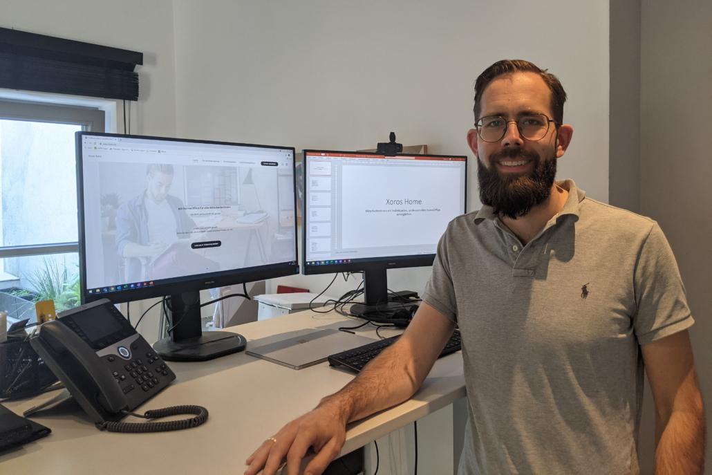 Xoros-Gründer Daniel Kresin