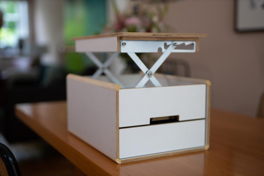 Die HOX ist ein Mini-Büro in der Box.