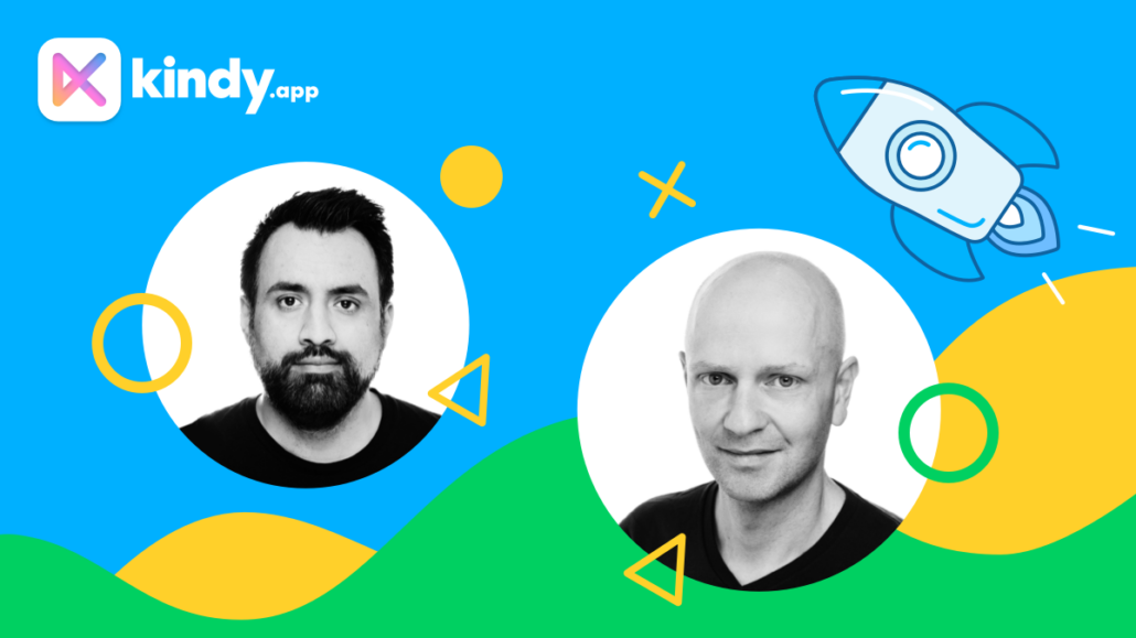 Die Gründer von Kindy: Ali Rastagar und Hannes Graf