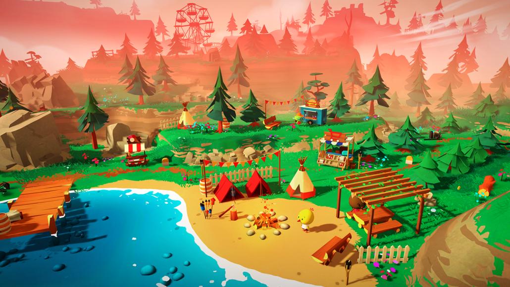 gamescon: Screenshot Haven Park von Mooneye