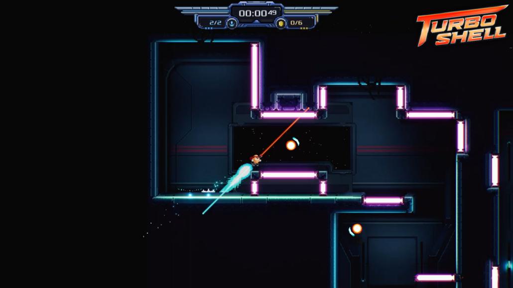 gamescon: Screenshot Turbo Shell von Radioactive Dreams