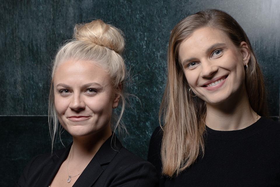Valerie Scholz und Katharina Klimkeit lassen bei Fact for Friends Fakten sprechen. (Foto: Jérome Gerull)