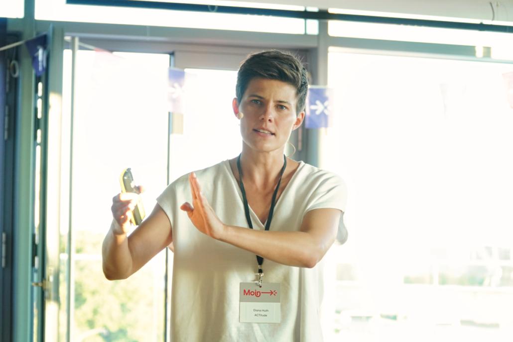 MEDIA LIFT: ACTItude-Gründerin Diana Huth