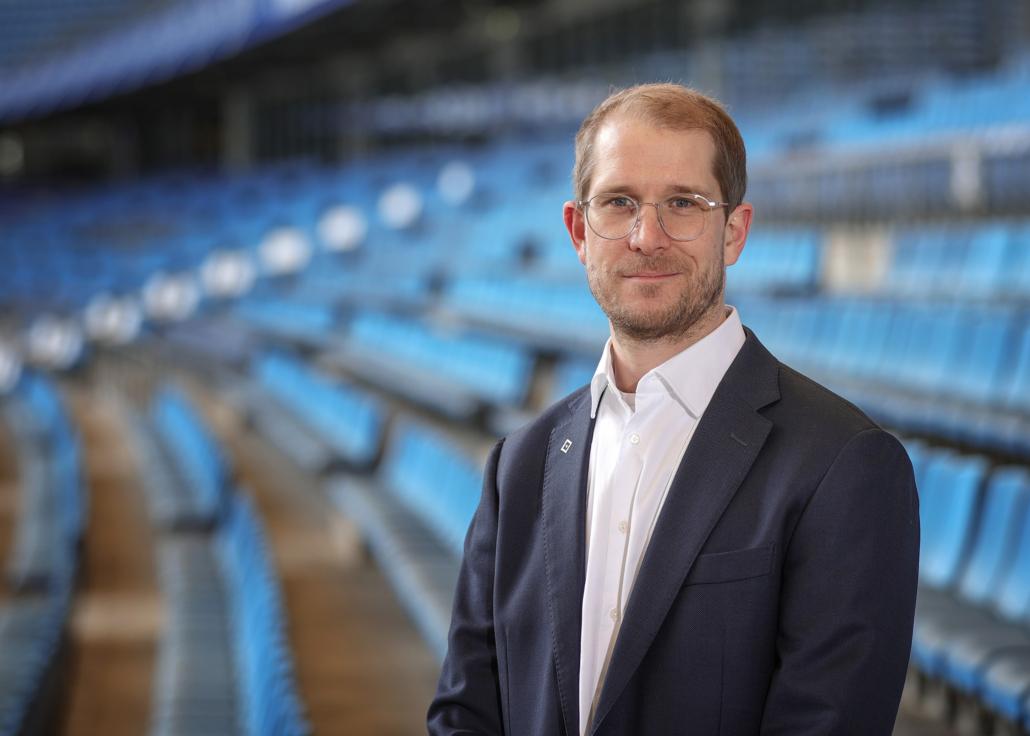 Dr. Karsten Zimmermann, Direktor Digital und IT des HSV