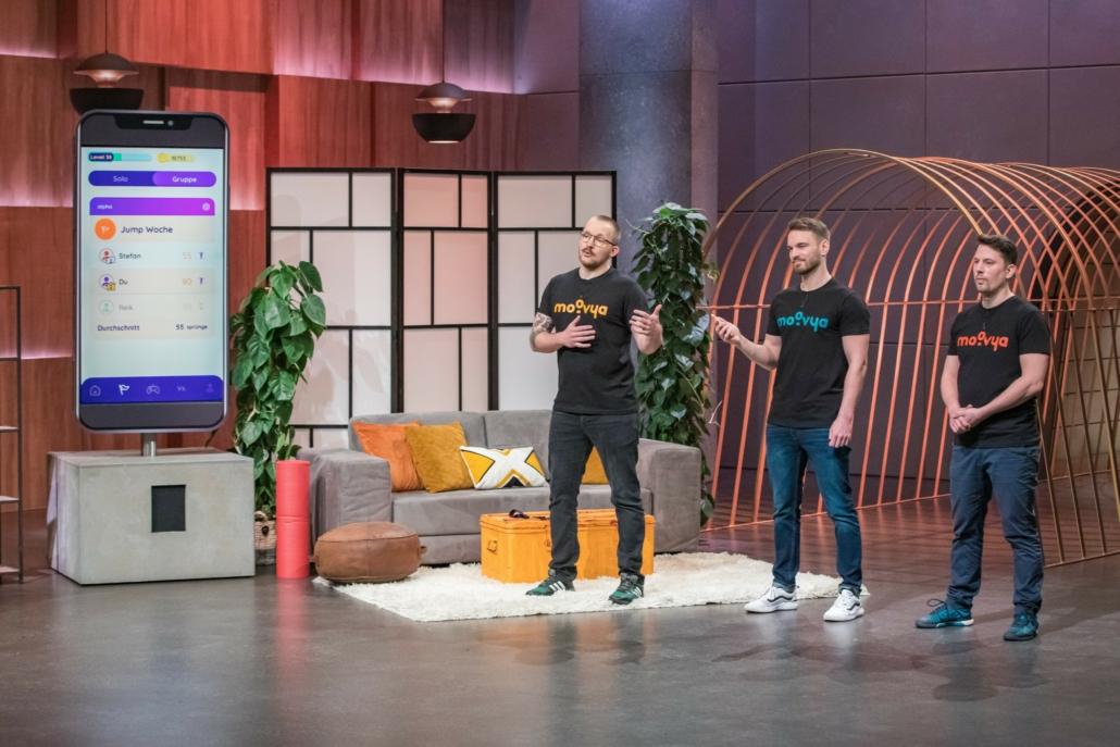 Wollen Richard Schütze, Etienne Petermann und Jakob Wowy ihre App Moovya verkaufen, oder doch eher die Technologie dafür?